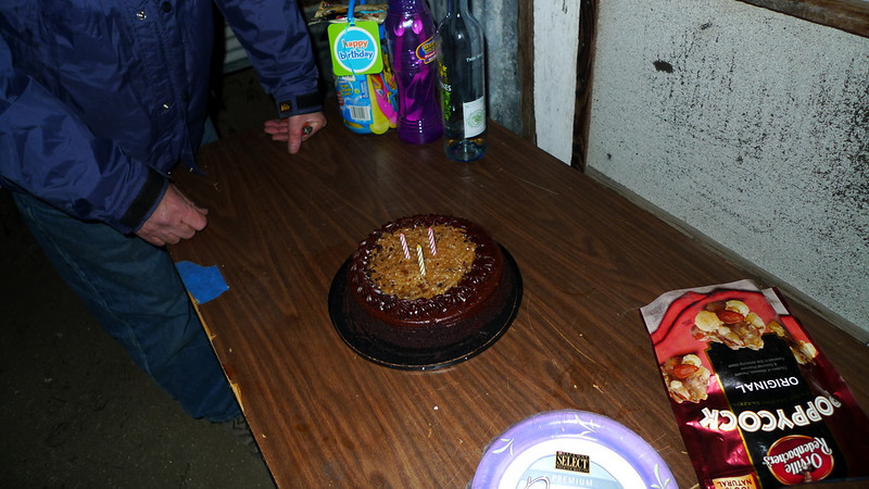 We celebrated Sooz' birthday.