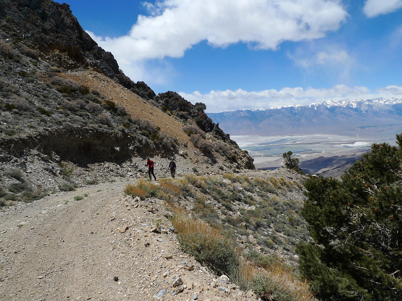 Hiking up towards the peak
