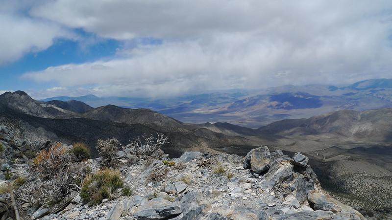 View north towards Saline Valley