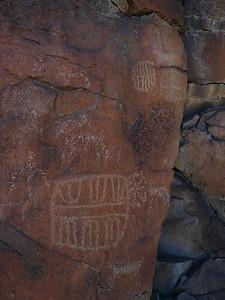 Centennial glyphs