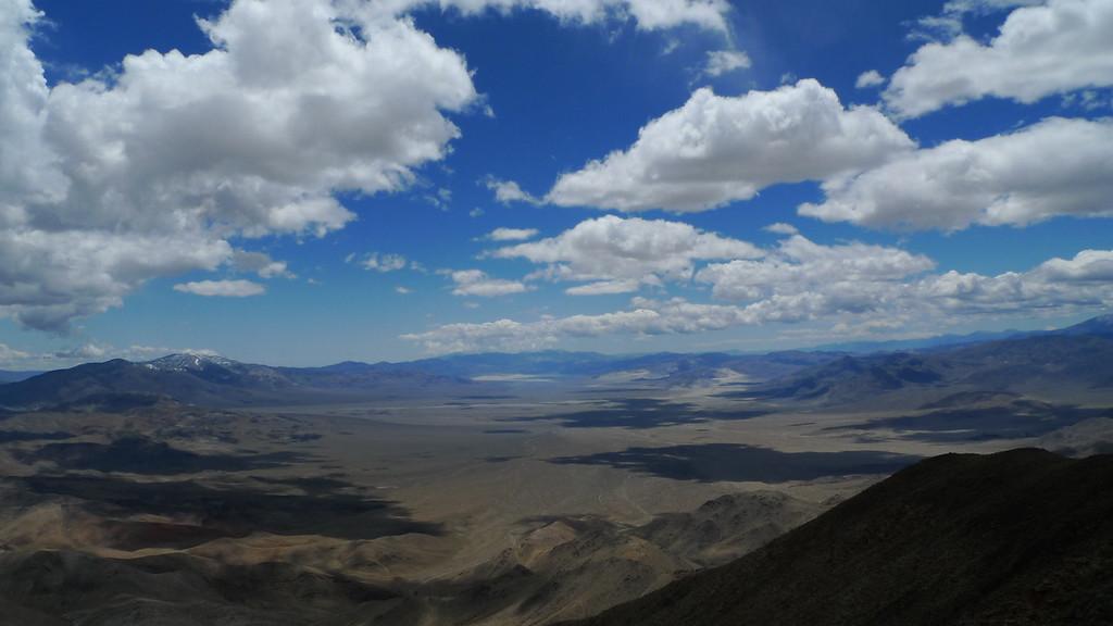 Last Chance Peak and Eureka Valley