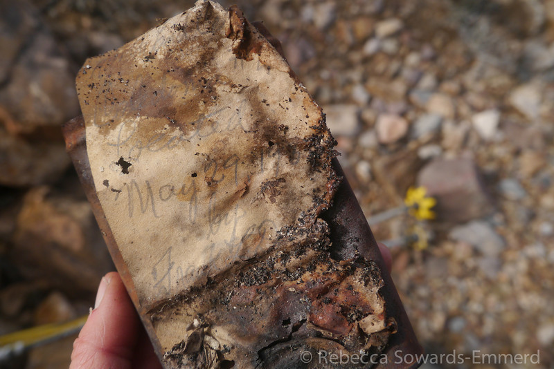 It had clearly survived a while - including fires - but we couldn't make out the date. 1920s? 1930s? We agreed - 19OLD.
