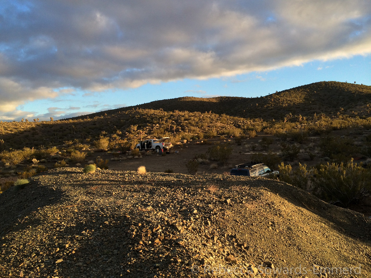 Camp at Shadow Mountain Mine.
