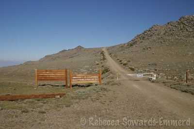 I drove all the way to the White Mountain trailhead, but I'm not going that far today.
