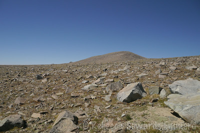 However, Mt Barcroft has the honor of being number 8 on the list of highest non-sierra peaks in California.