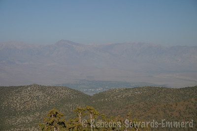 Looking further north - Bishop in the valley below