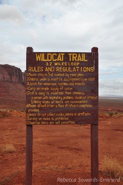 We hiked the Wildcat Trail, a loop around one of the Mitten Buttes.
