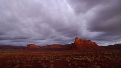 Our view from camp in the morning - Valley of the Gods