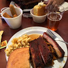 And we nicely timed lunch for the Redhouse BBQ in Tehachapi. Yay!