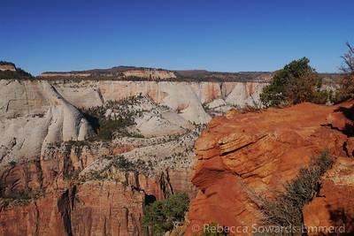 Rim of Zion Canyon