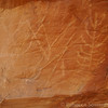 Next, we drove to a set of petroglyphs.