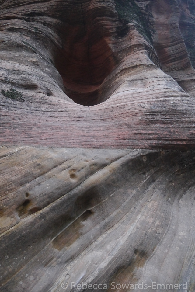 Patterns in the sandstone