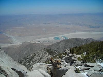 Valley over 10,000 ft below us