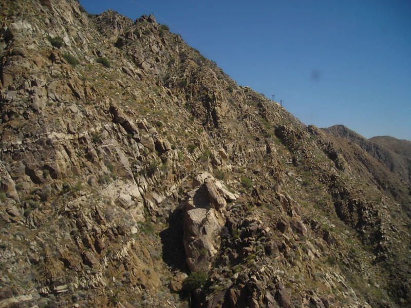 Views as we climb up the canyon