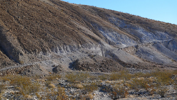 We took the old nadeau road out to Panamint Valley. Not for the timid. Had to get out and do some spotting but the new tundra performed well.