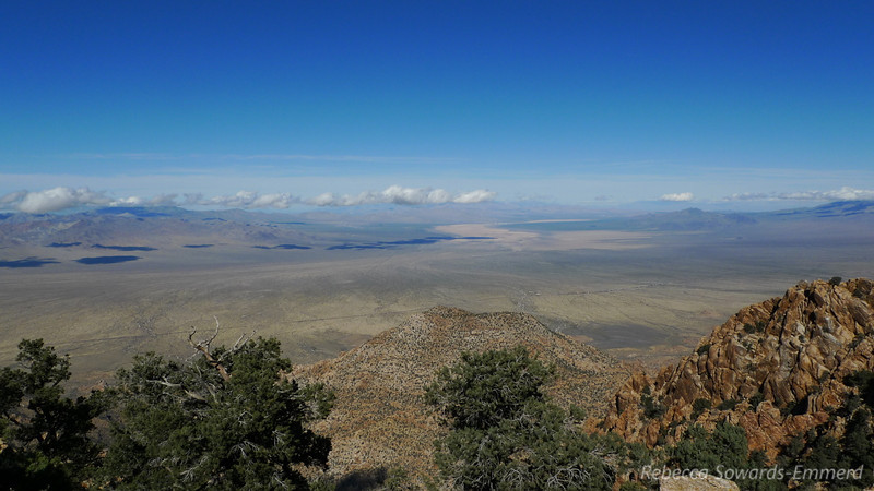 Another view across Ivanpah Valley towards the dry Ivanpah Lake.