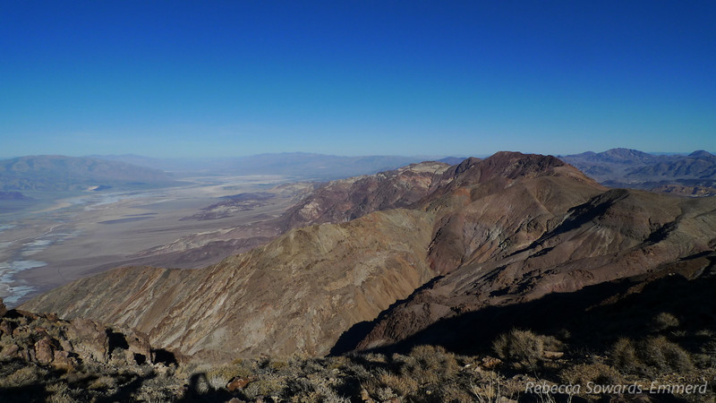 This hike is incredible, looking down on Death Valley and across at the Sierra the whole way.