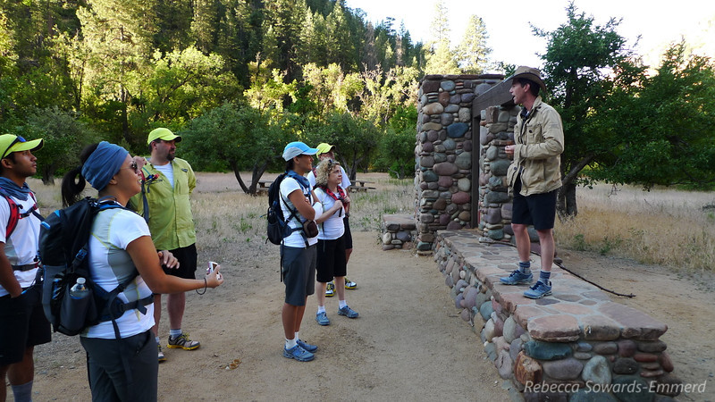 Getting ready to hike the West Fork of Oak Creek.