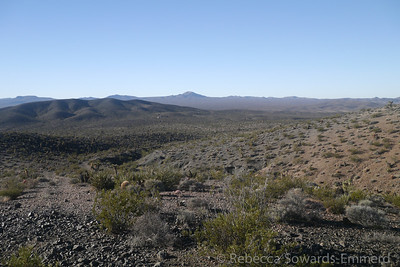 Looking back on the Shadow Mountain Mine from the walk.