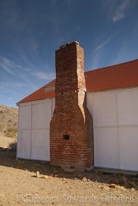 External chimney at Bighorn Mine