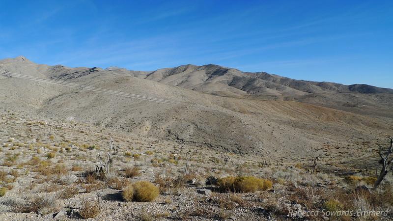 Dry desert views.