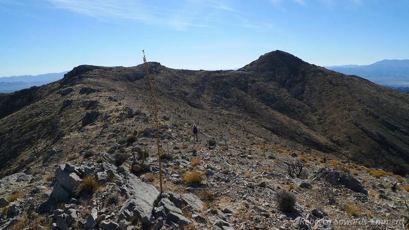 Easy peasy hiking along the ridge now.