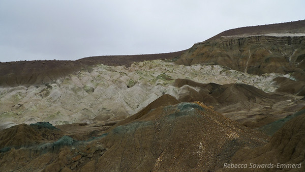 The Sump - mud hills, petrified wood forest, and colorful formations and minerals.