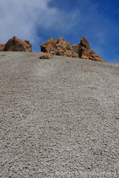 Crusted mud hills