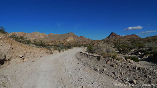 We decided to do a hike in Lake Mead Recreation Area, a place we haven't really explored near las Vegas.
