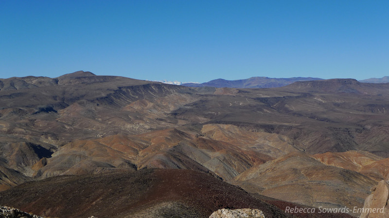 Yep there is the sierra. Hi Mt Whitney!