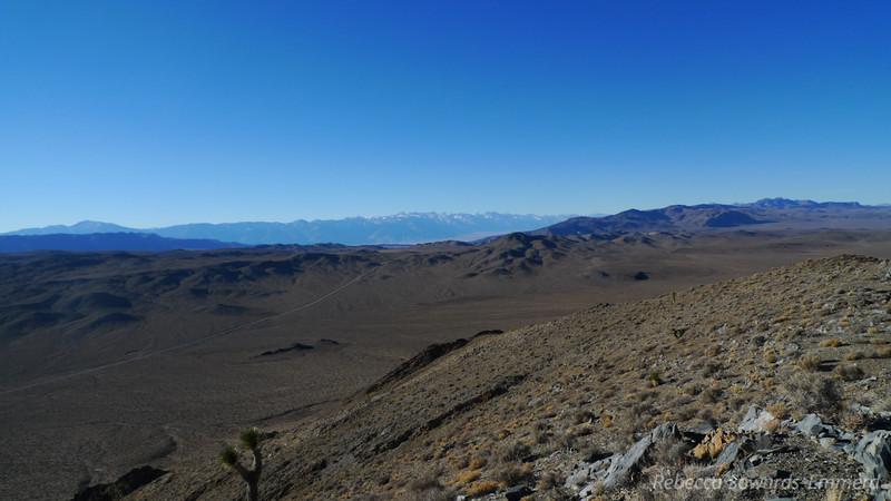 View from Ophir Peak