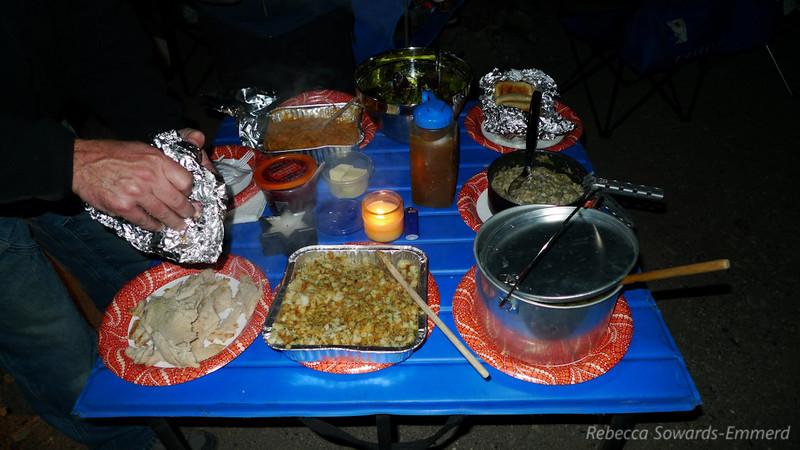 TURKEY DINNER!