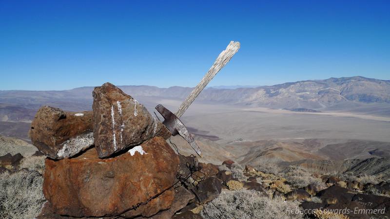 Pickaxe on the summit