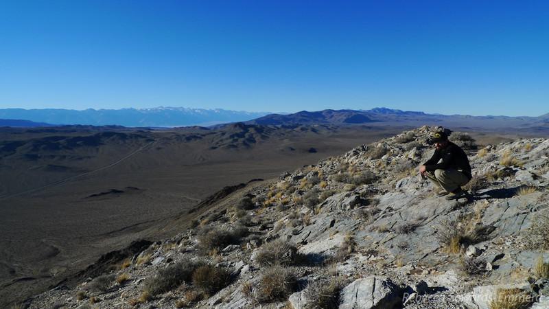 David on Ophir Peak