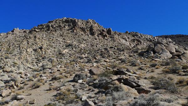 Nice terrain though - cool rocks.