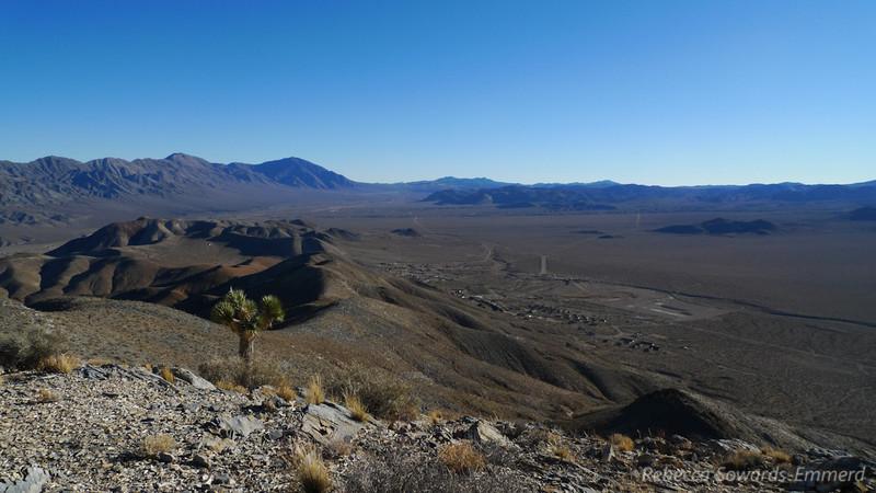 Ophir Peak view towards Darwin