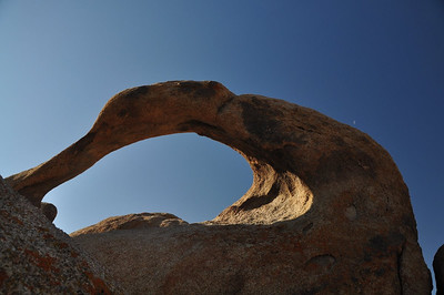 Mobius Arch and Crescent Moon