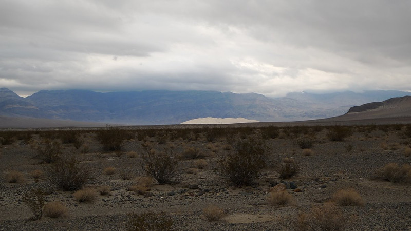 Eureka Dunes in the distance