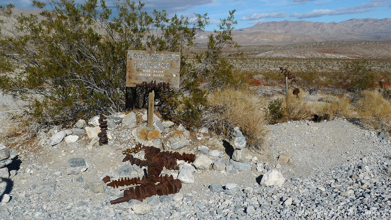 After Crater and Lead peak we continued into the park. Had to make the obligatory stop at Crankshaft.