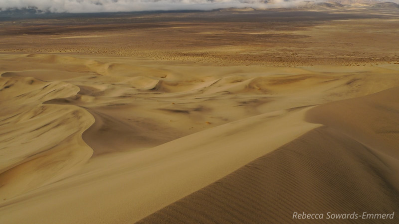 Eureka Dunes - found a nice spot with very few footprints