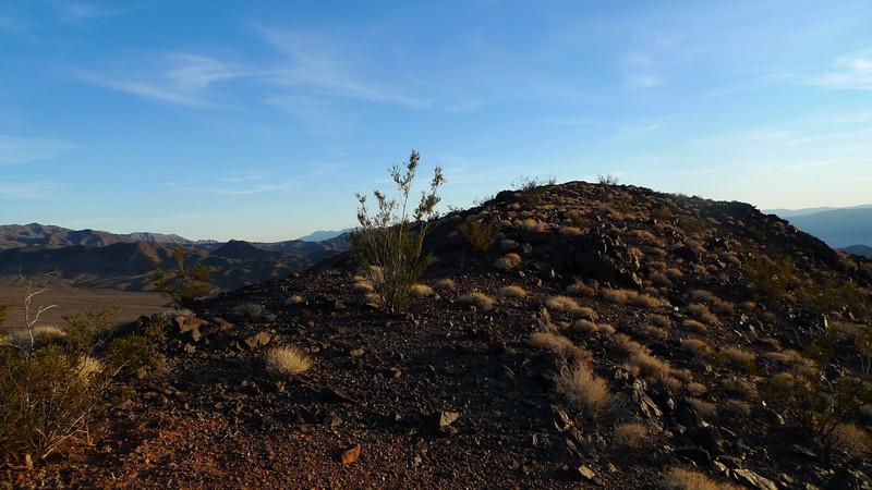On the summit ridge. No register.
