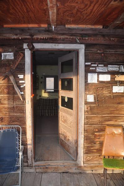 Cozy desert cabin