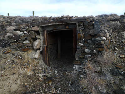 Mining ruins in the area