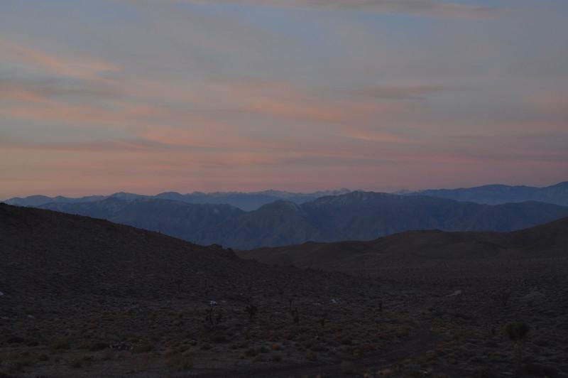 Sierra Sunrise view from Stateline