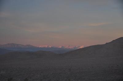 Morning light on the Sierra