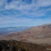 View north towards Death Valley and Telescope Peak (distant range)