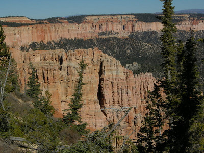 Cliffs in Bryce Canyon