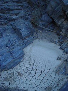 Most of the water holes were dry.