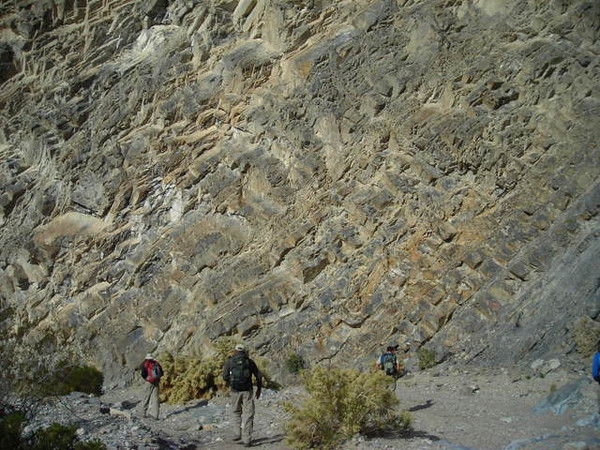 Continuing on<br /> <br /> After spending some time at the petroglyphs we continued down the canyon.