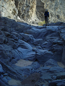 This was the typical terrain down the second half of the canyon